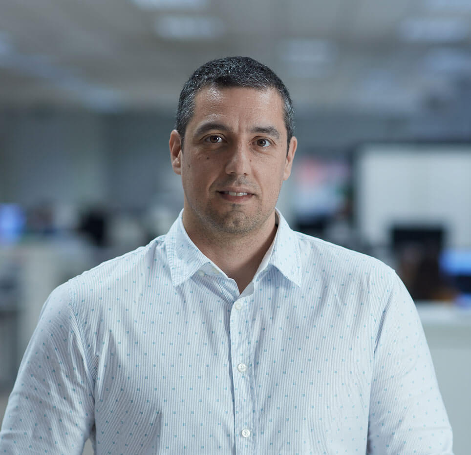 Jorge Ibarra, Engineering Director