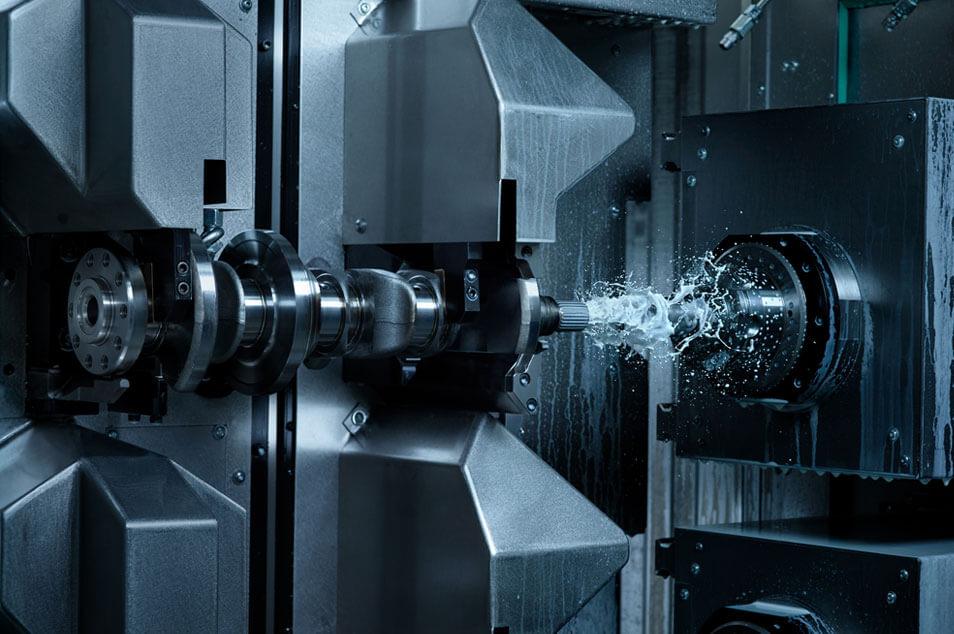 CNC manufacturer. World leader in crank CNCs